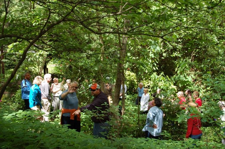 Mellichamp Garden tour - group shot